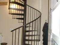 Escalier colimaçon acier Ecully