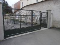 Portail métal  Charbonnières-les-Bains
