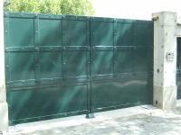 portail battant métal  Charbonnières-les-Bains